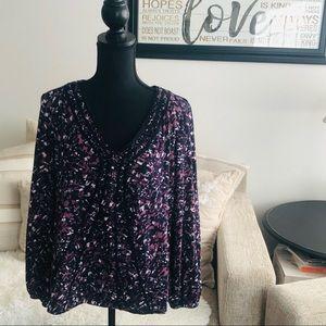 Liz & Co - Long Sleeved Shirt  - Size XL